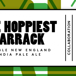 THE HOPPIEST BARRACK 8%