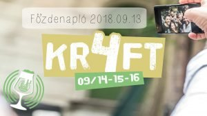 Főzdenapló 09.13 – KR4FT